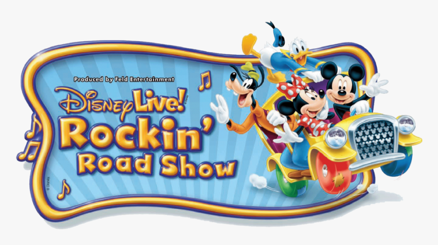 Disney Live Mickey's Rockin Road Show, HD Png Download, Free Download