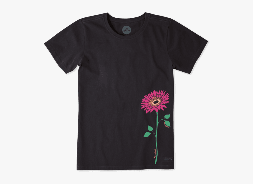 "Women""s Namaste Daisy Crusher Tee - T Shirt, HD Png Download, Free Download"
