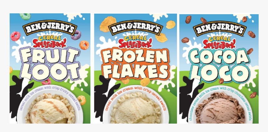 Ben And Jerry's Cereal Ice Cream, HD Png Download, Free Download