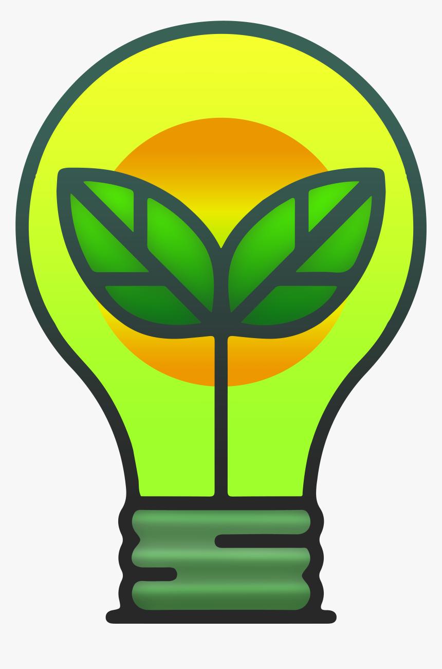 Eco Bulb Png Clipart - Eco Bulb Png, Transparent Png, Free Download
