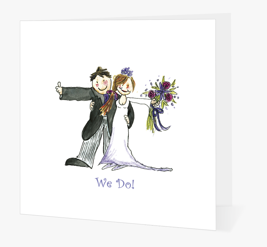 We Do Happy Wedding Couple Cartoon Bride And Groom And Kilt Hd Png Download Kindpng