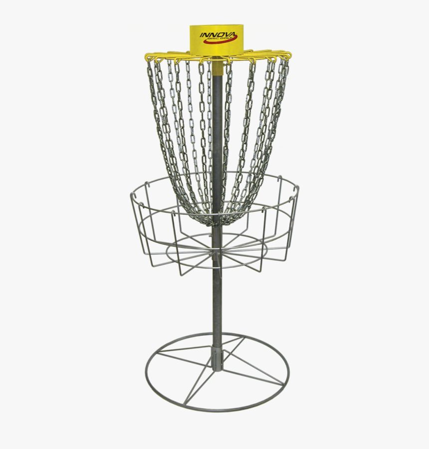 Disc Golf Basket Png - Disc Golf Chain, Transparent Png, Free Download