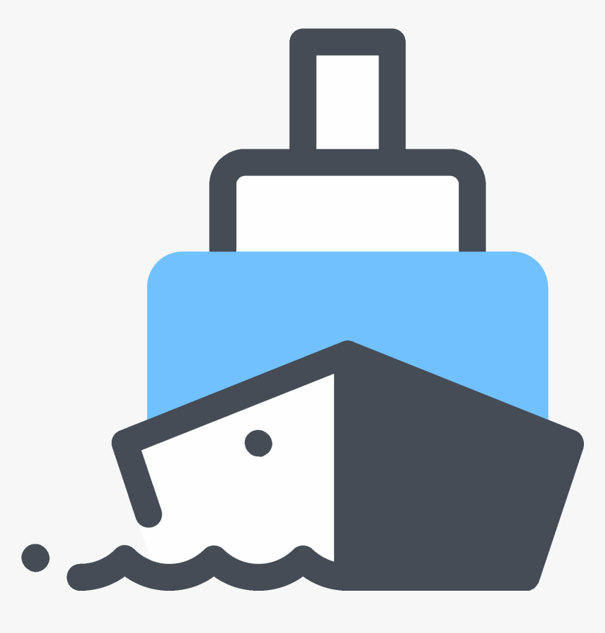 Big Cargo Ship Icon - Ship Icon, HD Png Download, Free Download