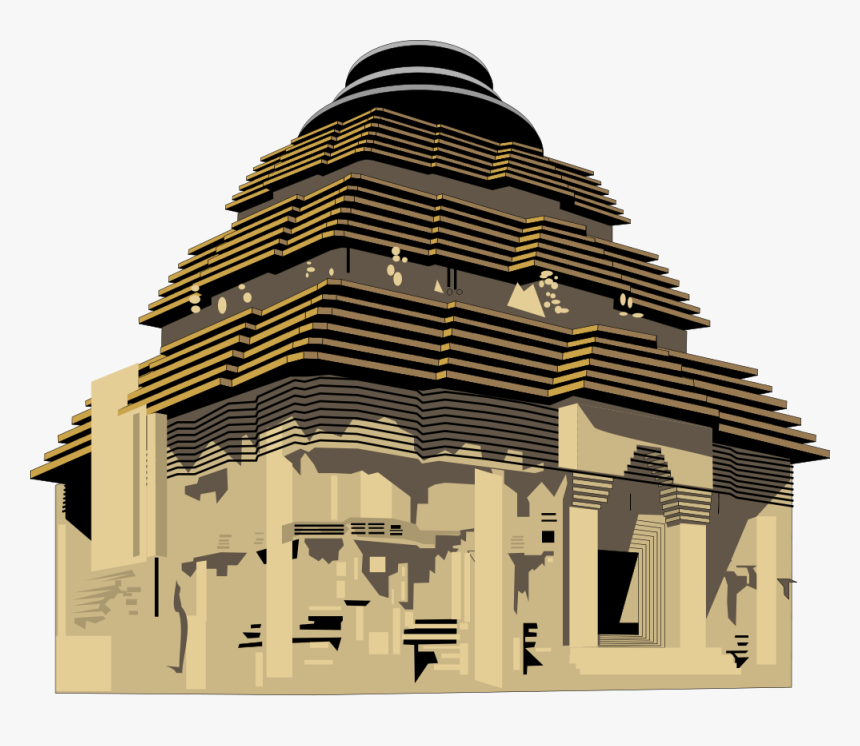 Collection Of Hindu - Hindu Temple Clipart Transparent Background, HD Png Download, Free Download