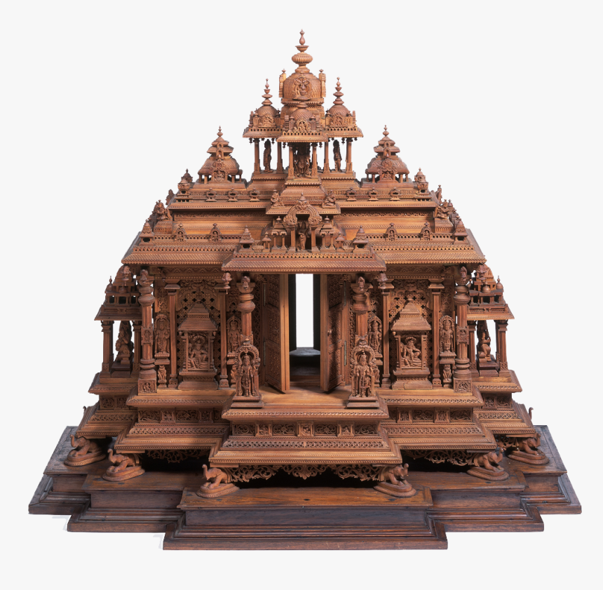 South Indian Temple Design , Png Download - Indian Temple 3d Model Free Download, Transparent Png, Free Download