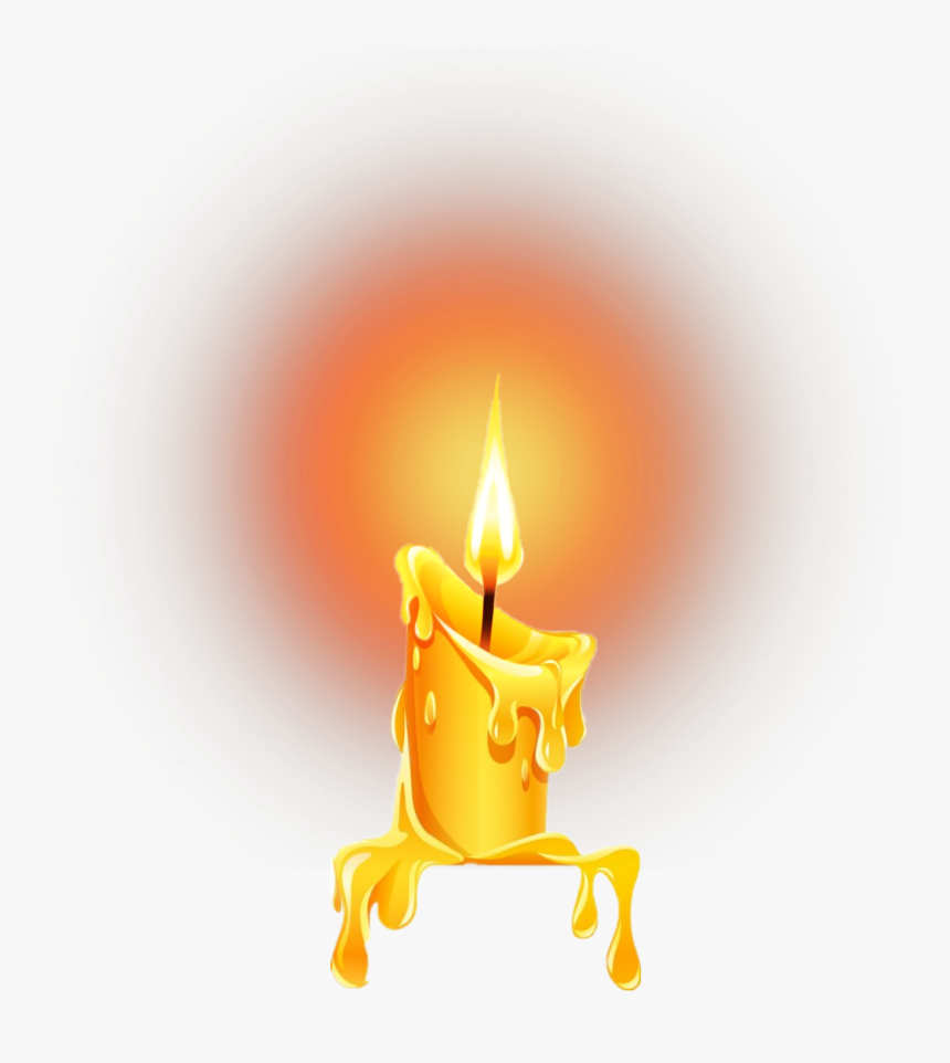 Candle Light Clipart - Candle Light Images Hd Png, Transparent Png, Free Download