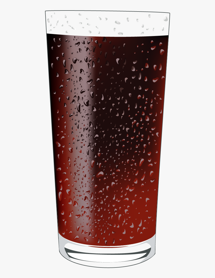 Coca-cola Drink Pint Glass - Vector, HD Png Download, Free Download