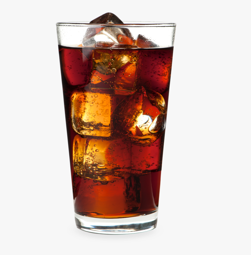 Soft Drink In A Glass , Png Download - Glass Of Soft Drink, Transparent Png, Free Download