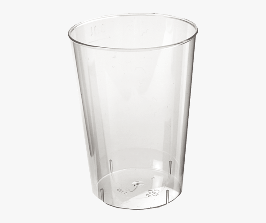Glass, Soft Drink Glass, Ps, 100ml, Transparent - Pint Glass, HD Png Download, Free Download