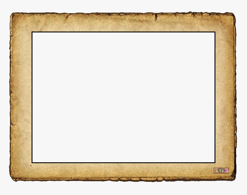 Transparent Papiro Png - Golden Wooden Frame Png, Png Download, Free Download