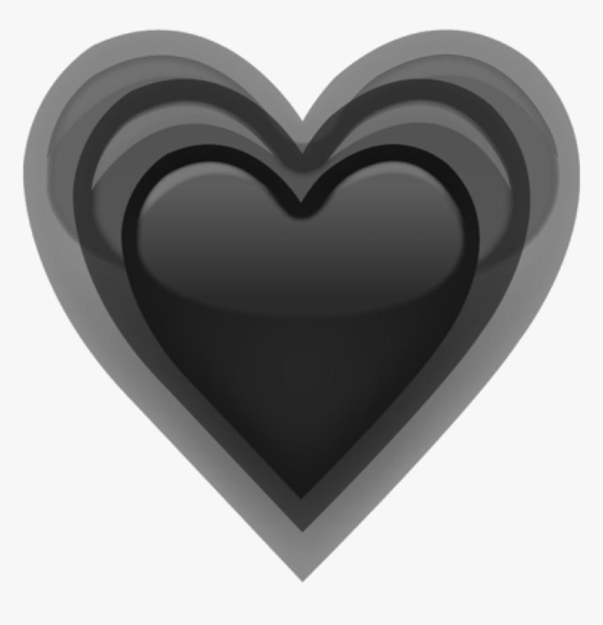 Transparent Grey Heart Png - Grey Heart Emojis Png, Png Download, Free Download