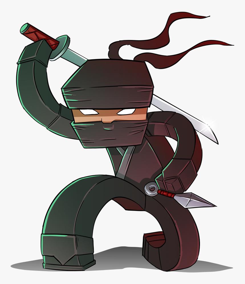 [img] - Imagens De Minecraft Ninja, HD Png Download, Free Download