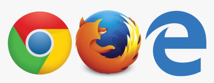 Chrome Firefox Edge, HD Png Download, Free Download