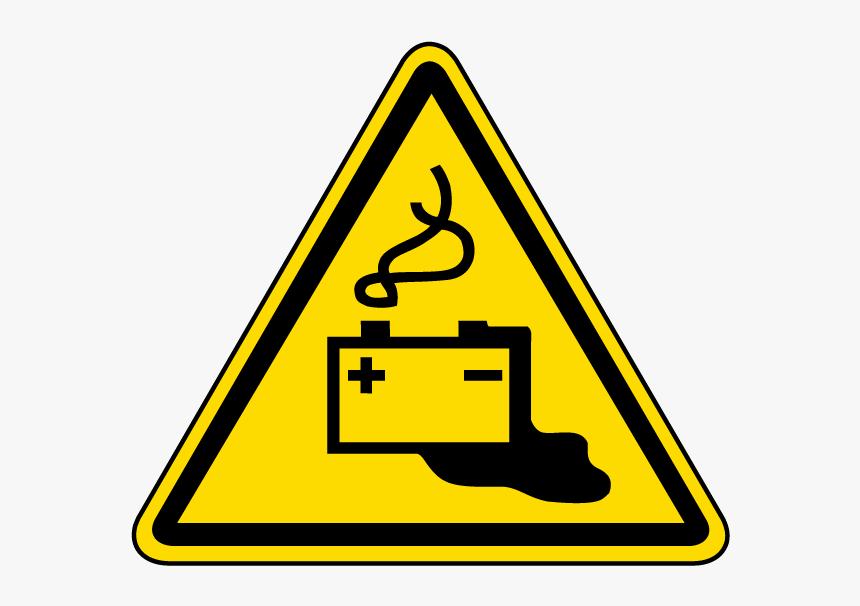 Battery Charging Warning Label - Battery Charging Warning Sign, HD Png Download, Free Download