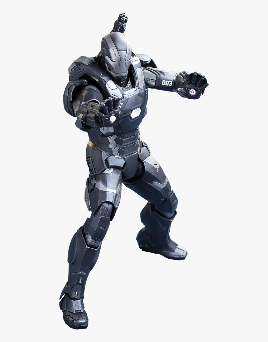 59 - Captain America Civil War Hot Toys War Machine, HD Png Download, Free Download