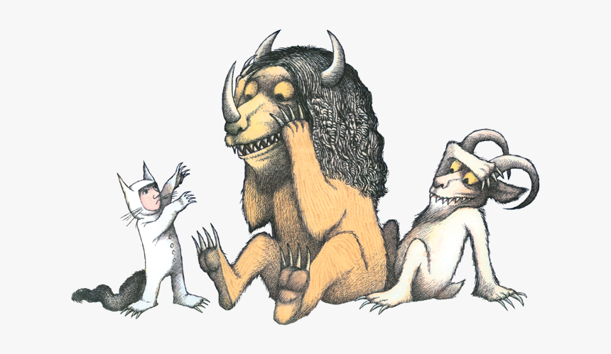 Wild Things Are Book, HD Png Download, Free Download