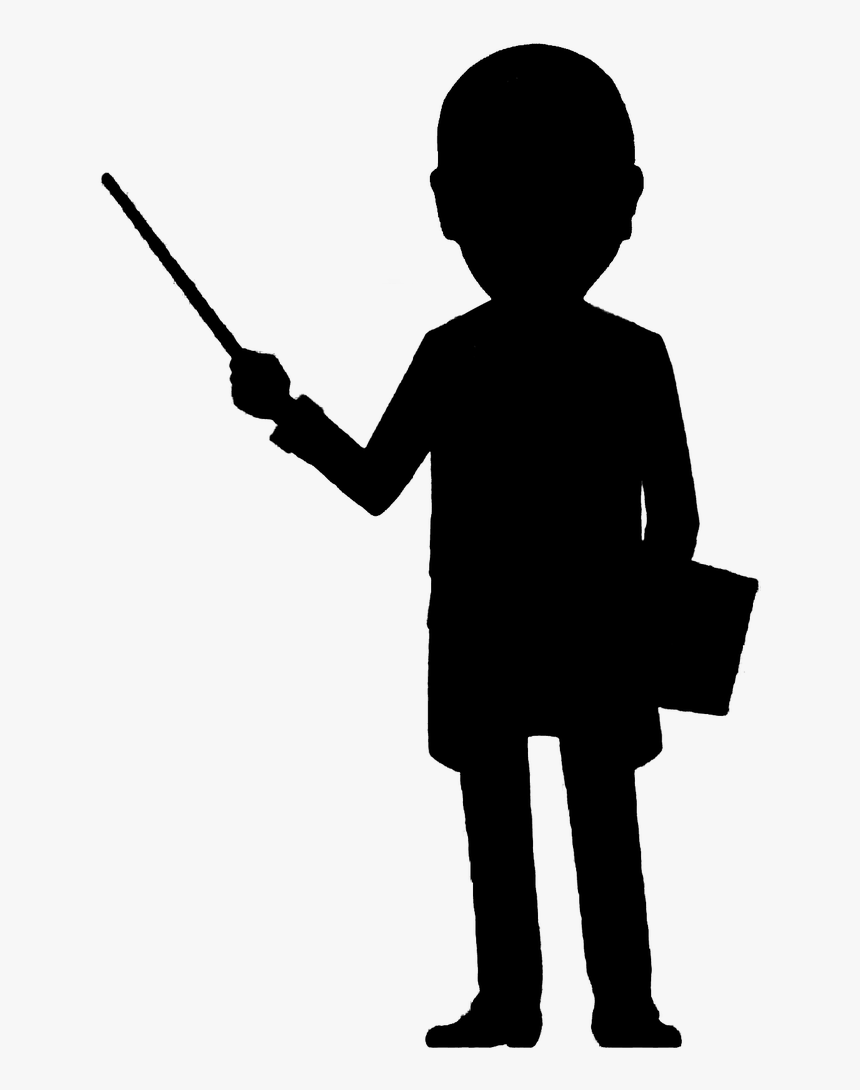 Professor Pointing Description Free Picture - Profesor Clipart, HD Png Download, Free Download
