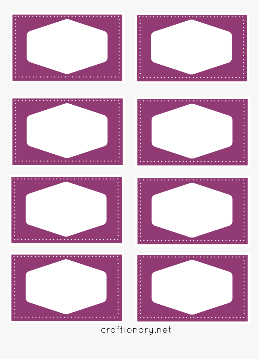Free Printable Blank Book Labels, HD Png Download, Free Download