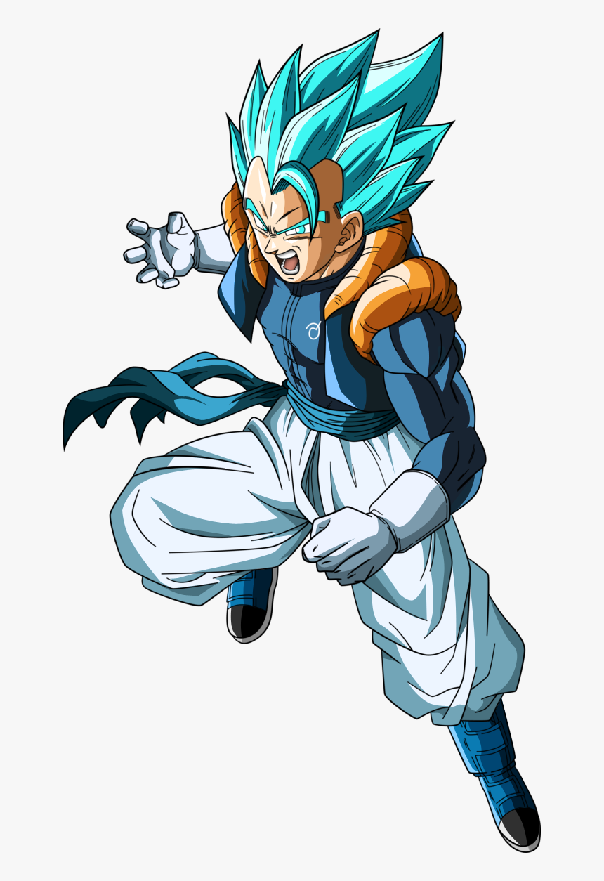 Lightsaber Drawing Dragon Ball Z Gogeta Blue 3 Hd Png Download