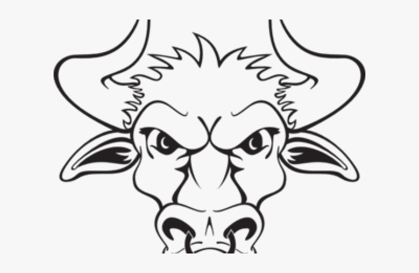 Bull Clipart Bull Head Tete De Taureau Dessin Hd Png Download Kindpng