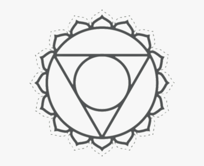 Wisdom Symbolical Geometrical Graphics Also Known As - Anahata Heart Chakra Symbol, HD Png Download, Free Download