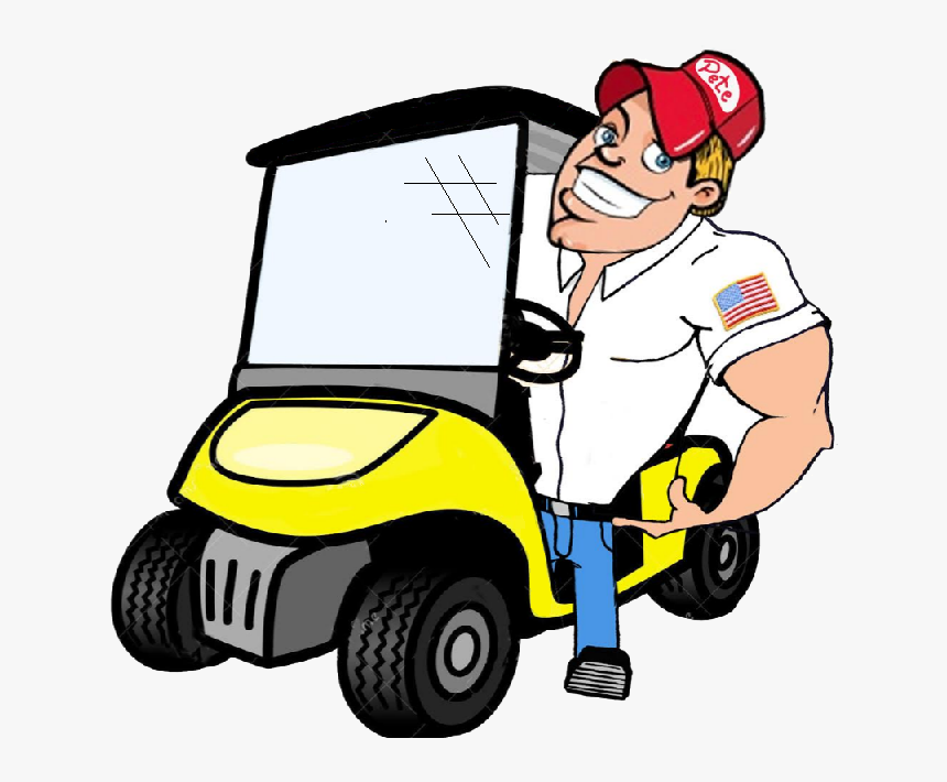 Golf Clipart Golf Buggy Cartoon Image Of Golf Cart Hd Png Download Kindpng