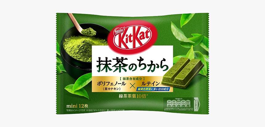 Kit Kat Mini Powers Of Green Tea Flavor - Matcha No Chikara Kit Kat, HD Png Download, Free Download