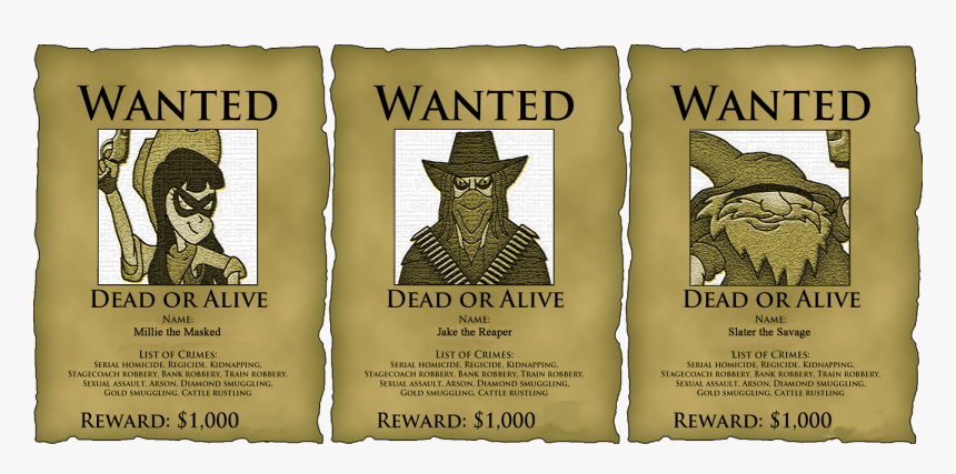 Buy John Wesley Hardin Wanted Poster Western Outlaw - Anime Wanted Poster Template, HD Png Download, Free Download