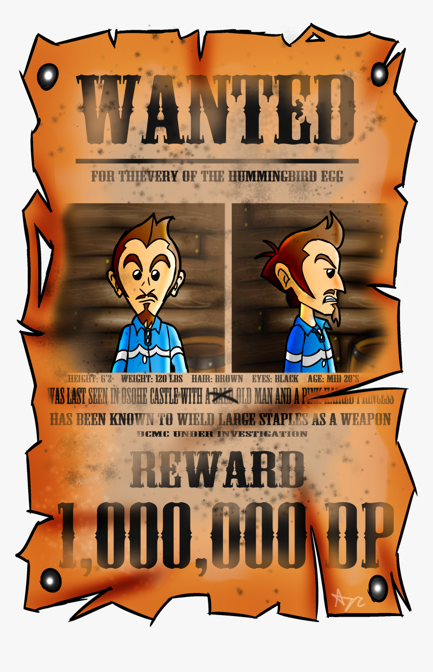Duster Wanted Poster - Poster, HD Png Download, Free Download