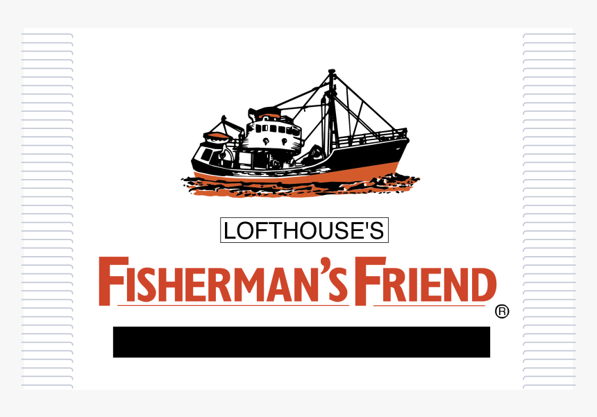 "Fisherman""s Friend Logo Png Transparent - Logo Fisherman S Friend Png, Png Download, Free Download"
