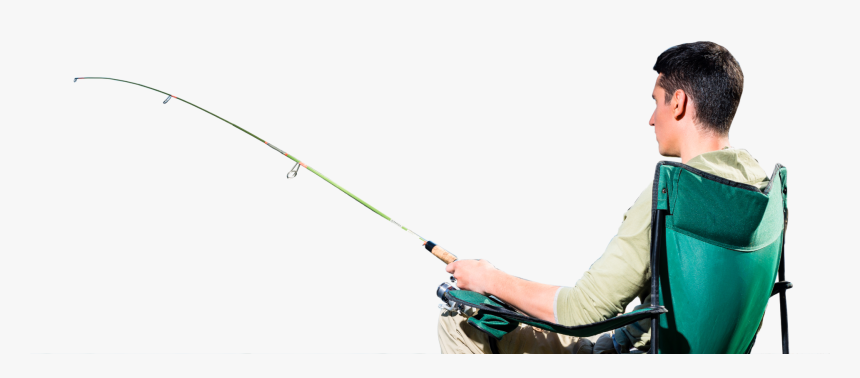Transparent Man Fishing Png - Cast A Fishing Line, Png Download, Free Download