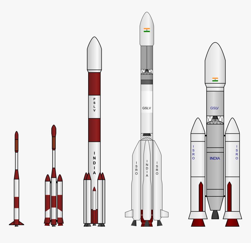 Transparent Rocket Scientist Clipart - Pslv Rocket, HD Png Download, Free Download