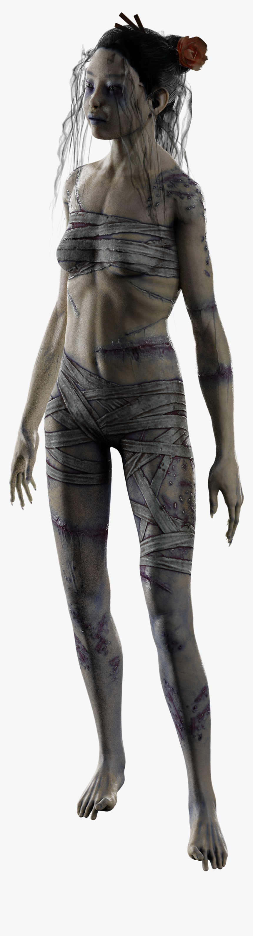 Dead By Daylight Rin Yamaoka Human, HD Png Download, Free Download