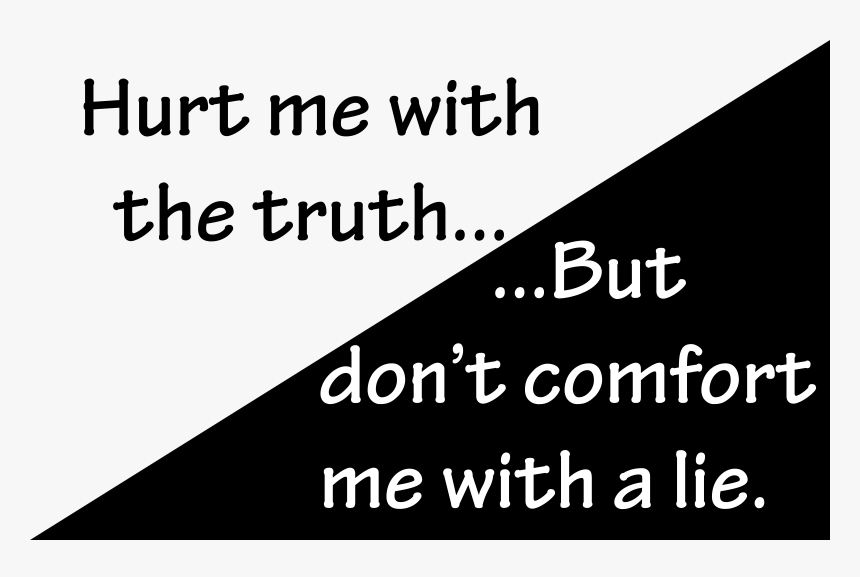 Hurt Me With The Truth - Dont Lie Png Icon, Transparent Png, Free Download