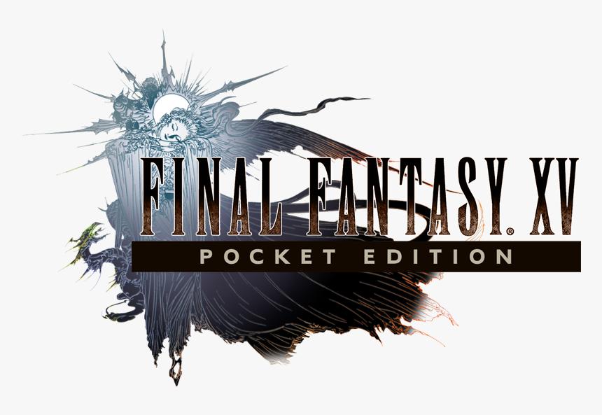 Final Fantasy Wiki - Final Fantasy Xv Logo Render, HD Png Download, Free Download