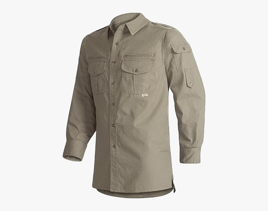 Long Sleeve Walkabout Safari Shirts Mens, HD Png Download, Free Download
