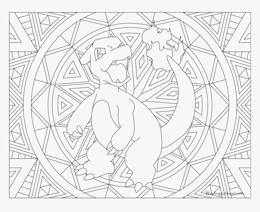 Coloring Pages Coloriage Mandala Pokemon A Imprimer Hd Png Download Kindpng
