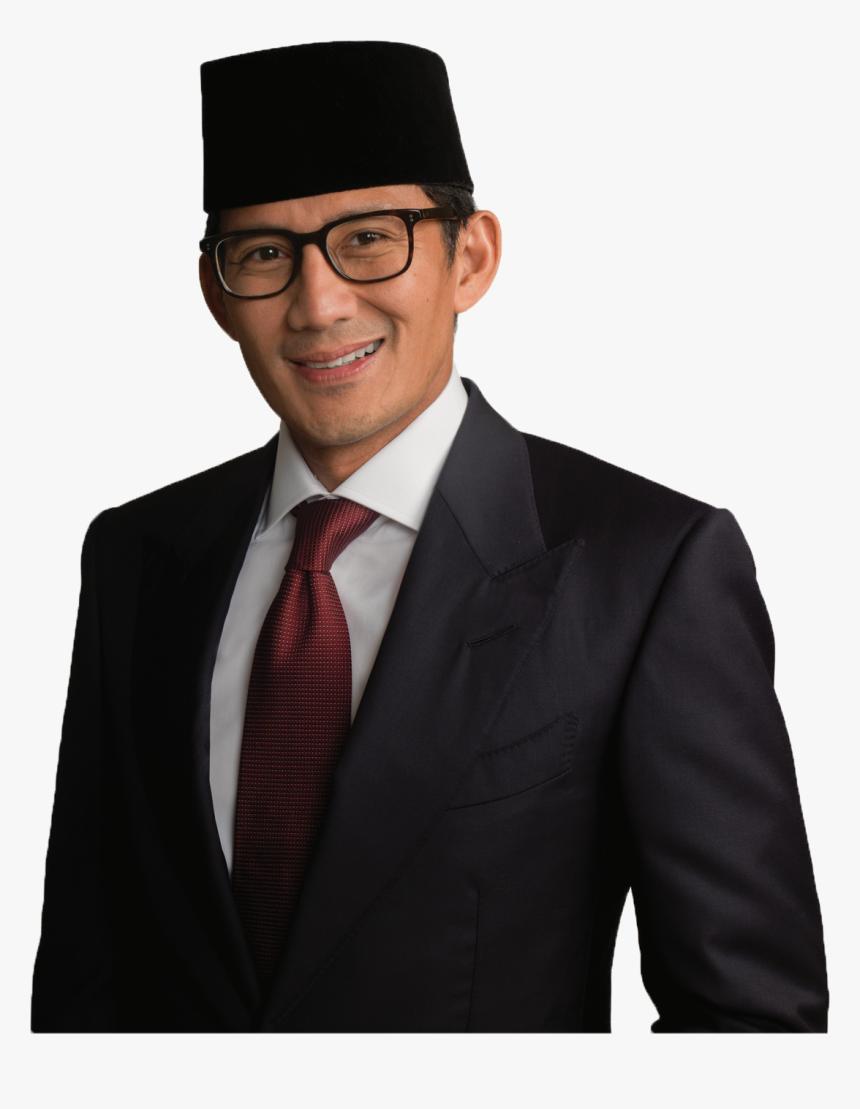 Sandiaga Uno Hitam Putih, HD Png Download, Free Download