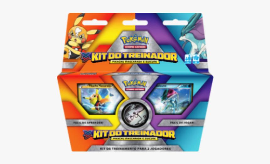 Kit Do Treinador Pokemon Coleção Xy Pikachu Mascarada - Pokemon Trainer Kit Pikachu Libre And Suicune, HD Png Download, Free Download