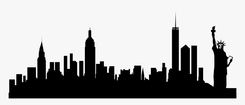 New York Skyline Transparent Background Hd Png Download Kindpng