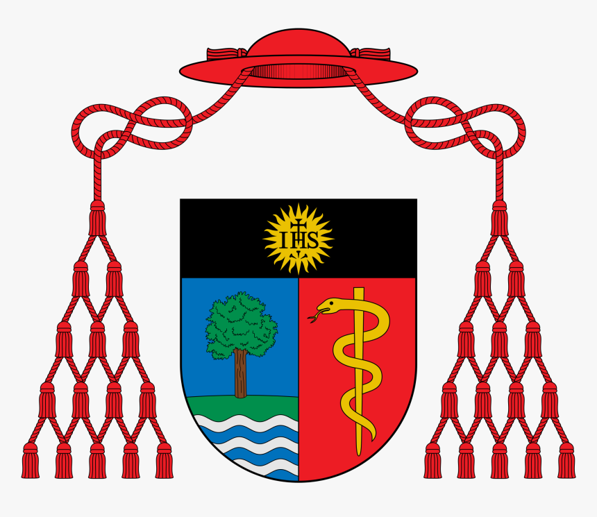 Mariano Coat Of Arms , Png Download - Cardinal Coat Of Arms Template, Transparent Png, Free Download