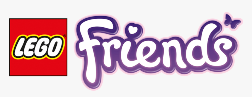 Transparent Friends Logo Png Lego Friends Logo Png Png Download Kindpng