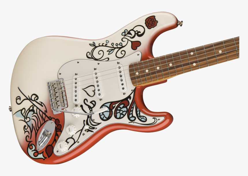 Jimi Hendrix Monterey Stratocaster, HD Png Download, Free Download