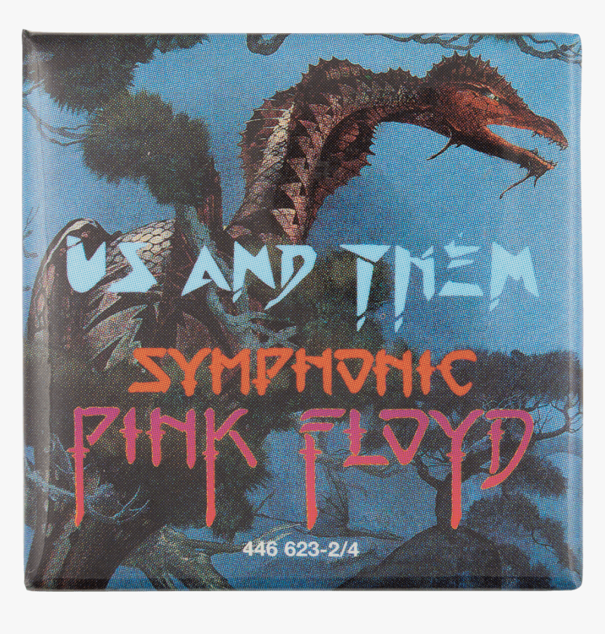 Pink Floyd Us And Them Music Button Museum - Them Symphonic Pink Floyd, HD Png Download, Free Download
