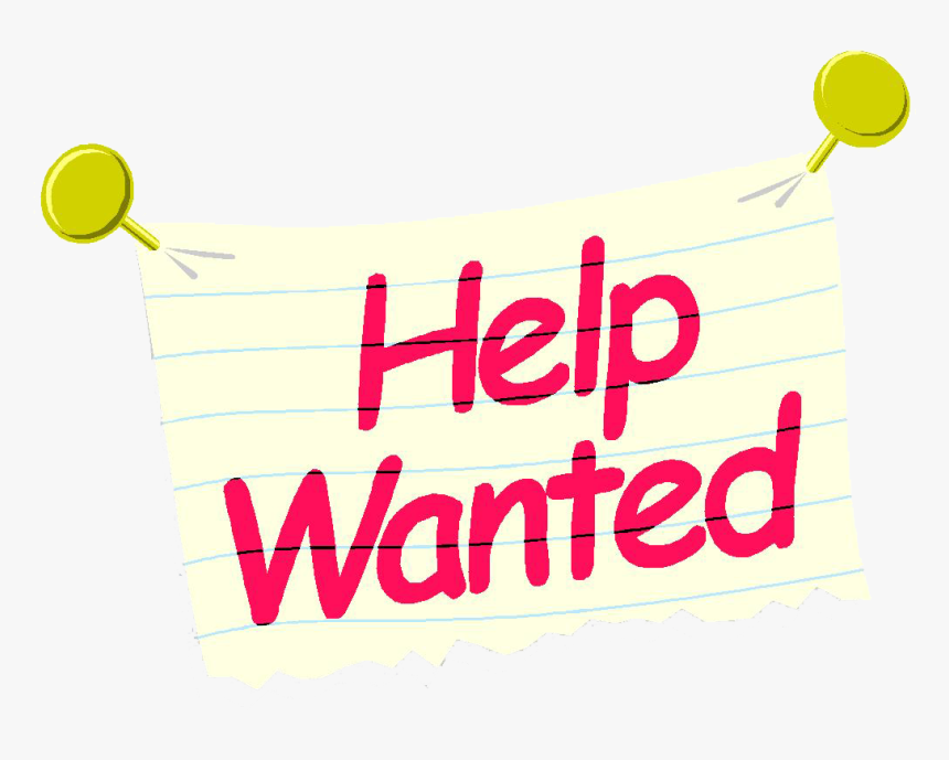 Mini-me Salon For Kids - Fun Help Wanted Sign, HD Png Download, Free Download