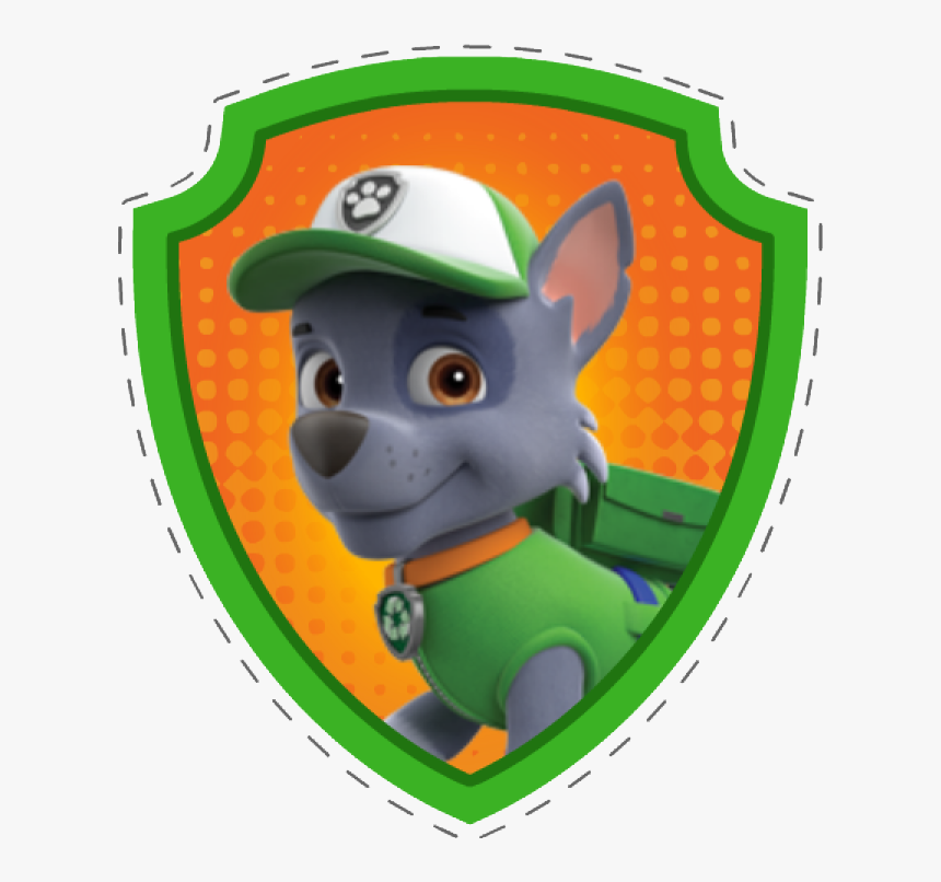 Paw Patrol Rocky Badge, HD Png Download, Free Download