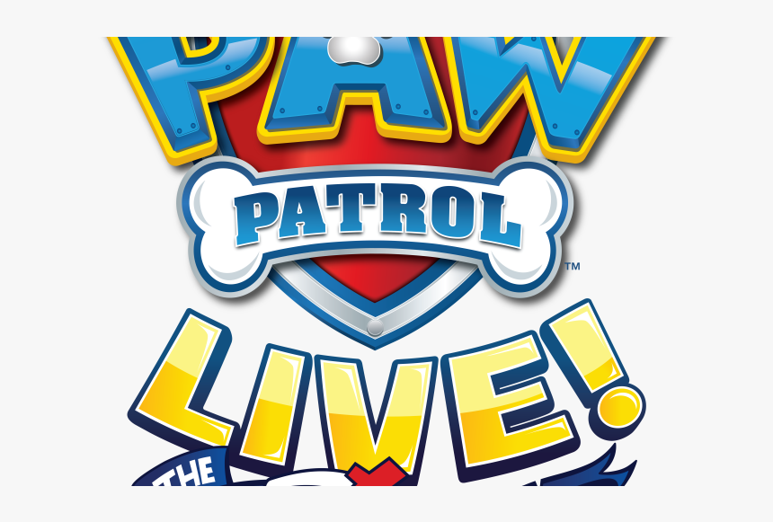 Transparent Paw Patrol Png Images - Paw Patrol Live The Great Pirate Adventure Logo, Png Download, Free Download