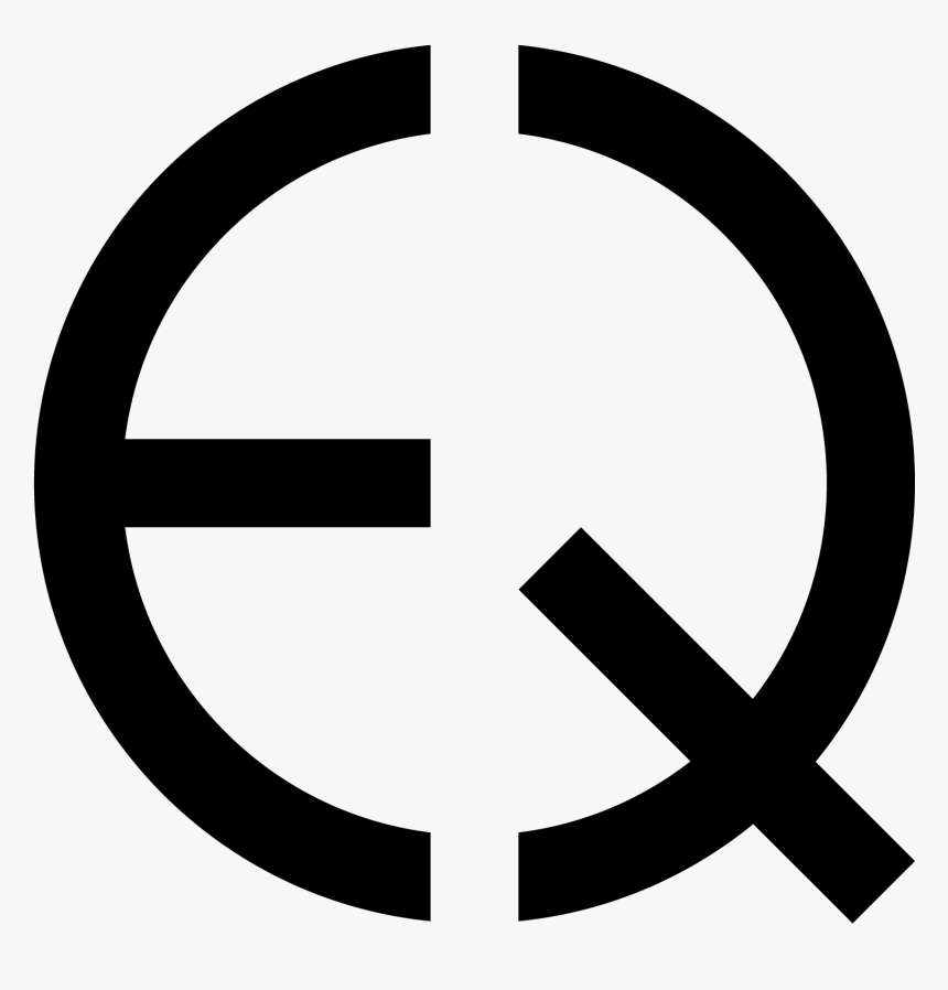 Eqcss Logo - R In A Circle Png, Transparent Png, Free Download