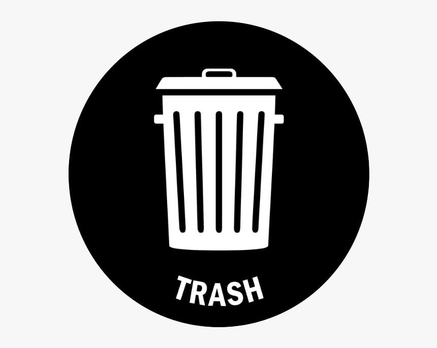 Trash Sign, HD Png Download, Free Download