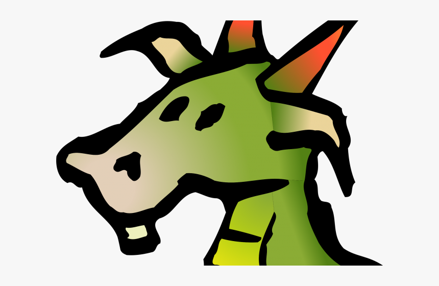 Head Clipart Dragon, HD Png Download, Free Download